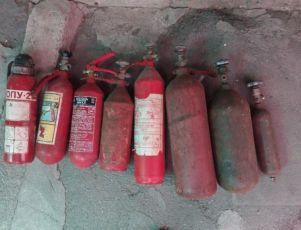 Огнетушитель вогнегасник ОУ 3 ОПУ 2 ВВК 1.4 баллон углекислотный