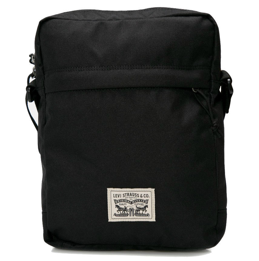 90de0aee404d Купить сейчас - Черная мужская сумка через плечо Levi's - Чоловіча ...