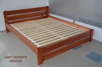 Кровать Двуспальная Деревянная Рич 140х190 Массив Сосны