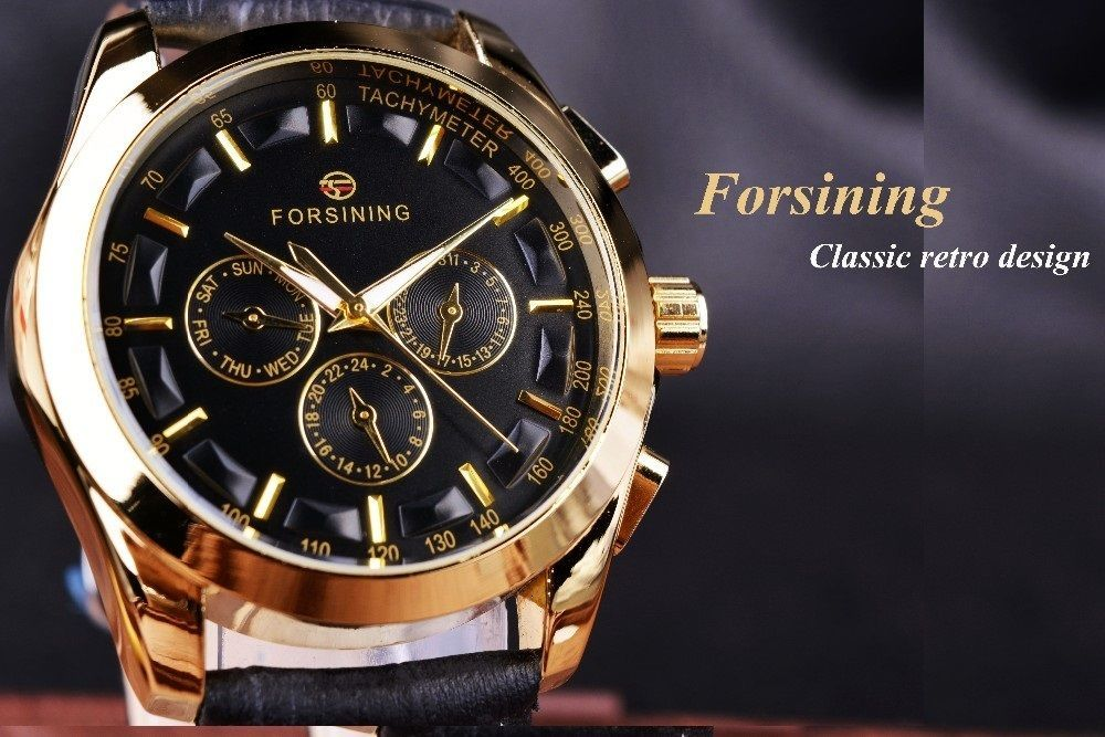 Forsining часы механические наручные наручные часы 3 рейха купить