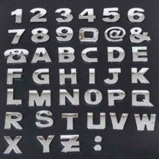 Наклейки букви знаки буква буквы цифры наклейки на авто написи