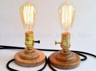 Светильник настольный лампа настольная Освещение кафе + лампа Эдисона