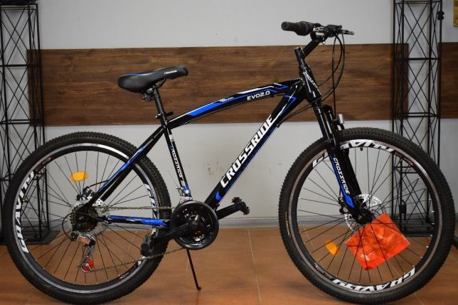 """Горный велосипед Crossride Evo 2.0 26"""" стальной 19 рама"""