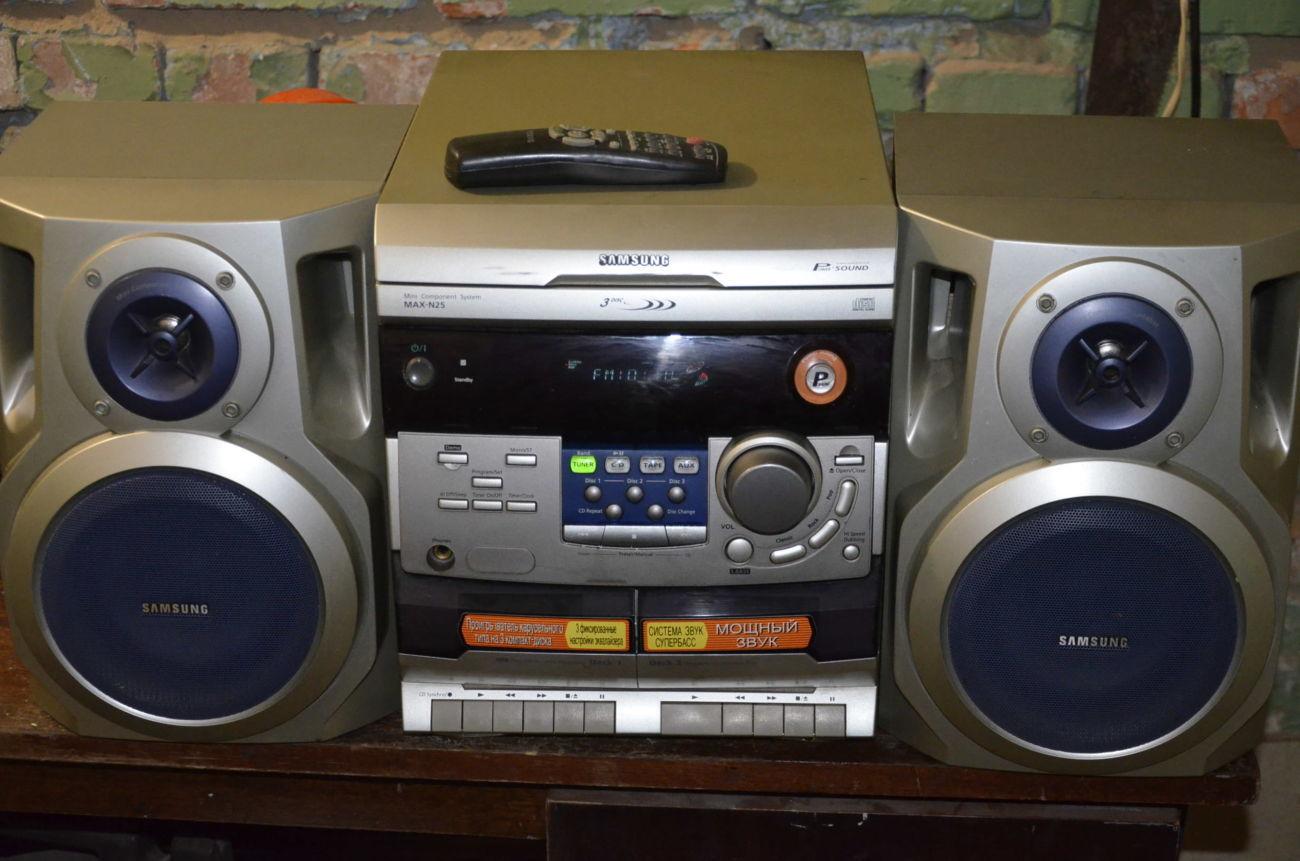 Музыкальный центр Samsung MAX-N25
