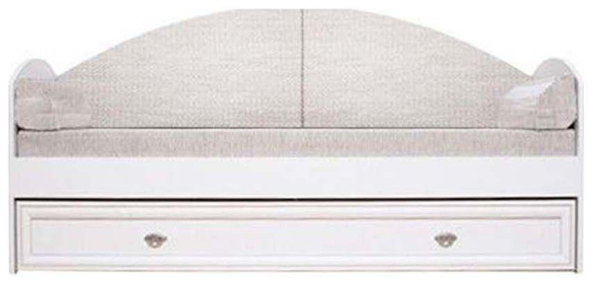 Кровать с ящиком LOZ/80(светло бежевый)Салерно