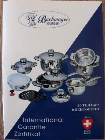 Новый набор посуди Bachmayer SOLINGEN BM-2660 на 16 предметов