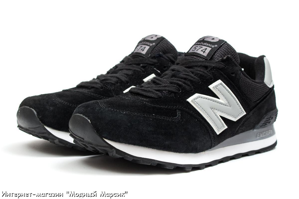 165885270a05 Черные мужские кроссовки New Balance 574 Нью Баланс, р. 41-45, AF14101