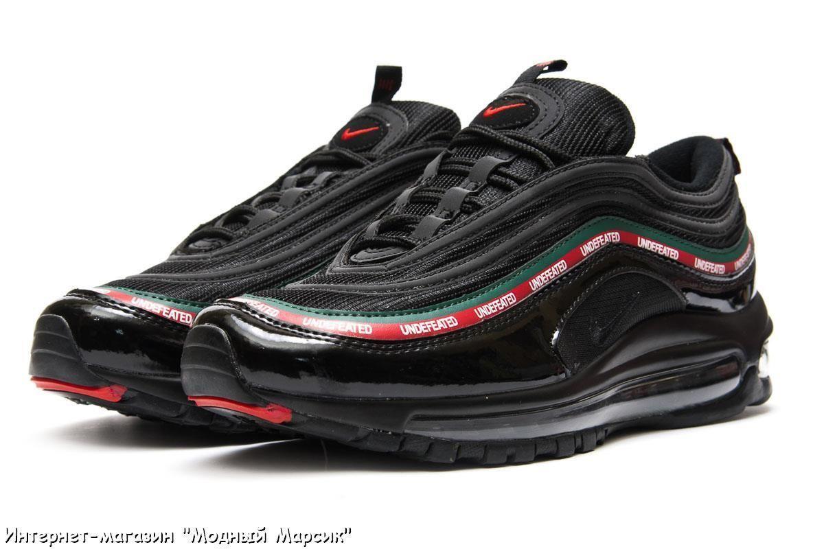 Модные черные кроссовки Nike Air Max 97, мужские, р. 41 - 45 ... 52f92e2ab8d