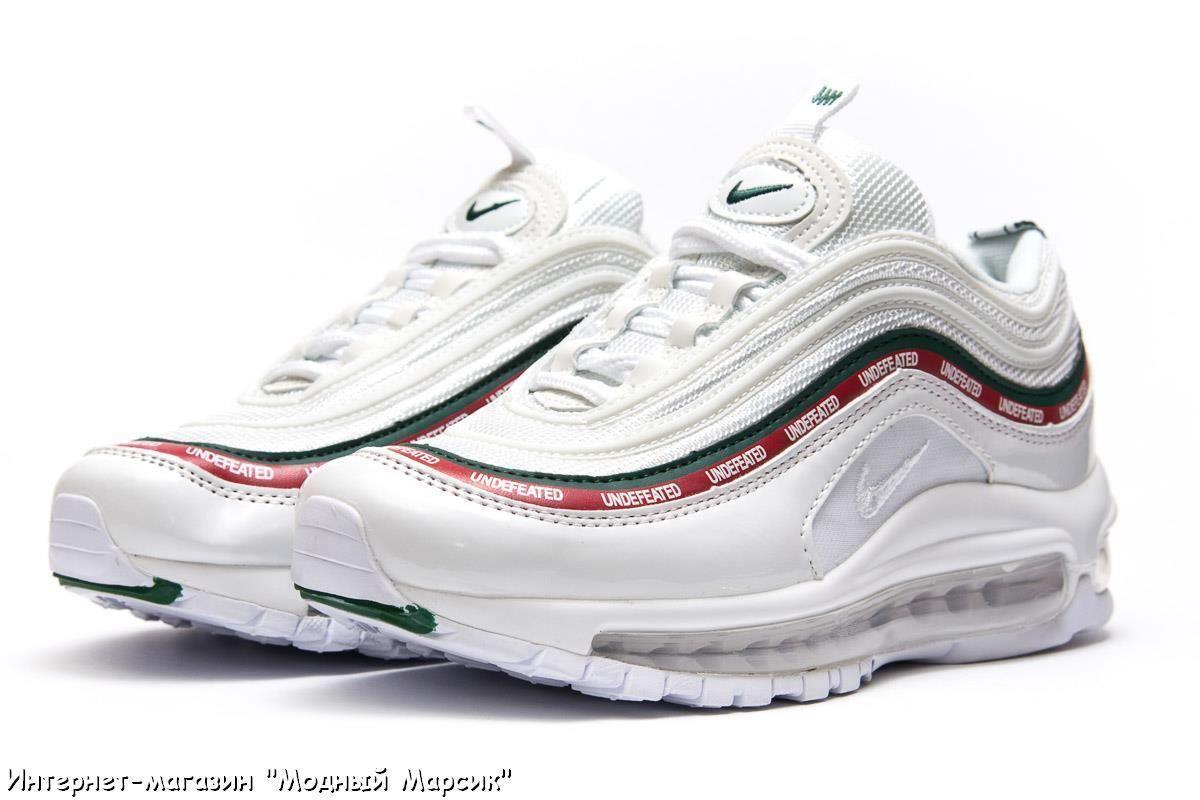 011a281a5 Белые модные женские кроссовки Nike Air Max 97, р. 36 - 40, AF13784 ...