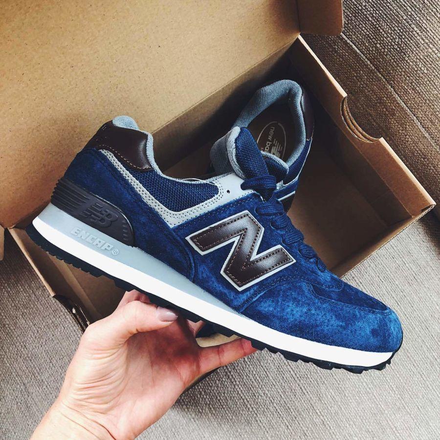 Мужские кроссовки New Balance 574 синие  880 грн. - Спортивная обувь ... d975bcbf68c3f