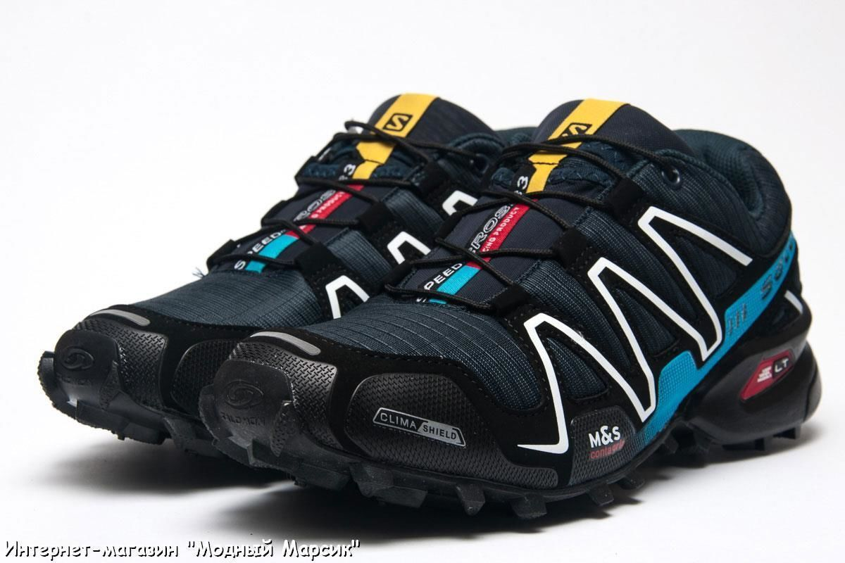 Темно-синие мужские кроссовки Salomon Speedcross 3 12a5c46d2bc3c