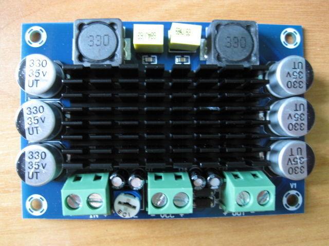 Усилитель звука 100вт моно DC 12в для сабвуфера, Автозвук, установка