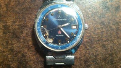 Командирские часы «Заказ МО СССР». Модель середины 1970-х