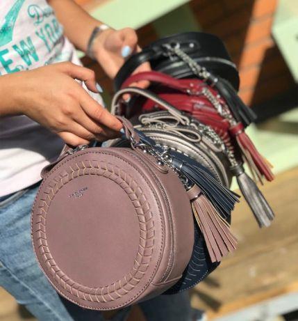Женская сумка клатч David Jones. Круглая форма. ОРИГИНАЛ  750 грн ... 881304a0b9518