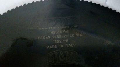 Диск по металу Stark 250/ Отрезной-Пильный Диск по металлу STARK