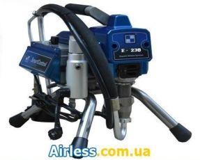Агрегат окрасочный Airless Е-230 бесщеточный двигатель 230бар