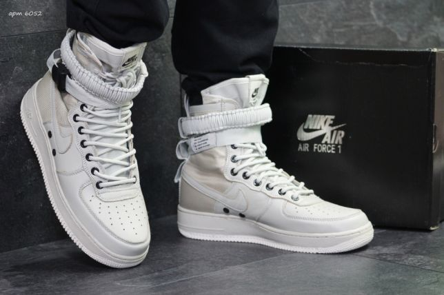 4e280f05 ХИТ! Кроссовки Nike Air Force - пресс кожа, высокие, прошиты. ДЕШЕВО ...