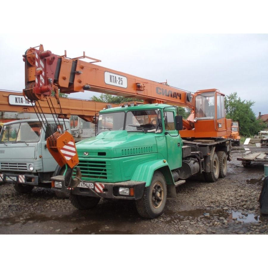 Аренда автокрана 25 тонн Харьков