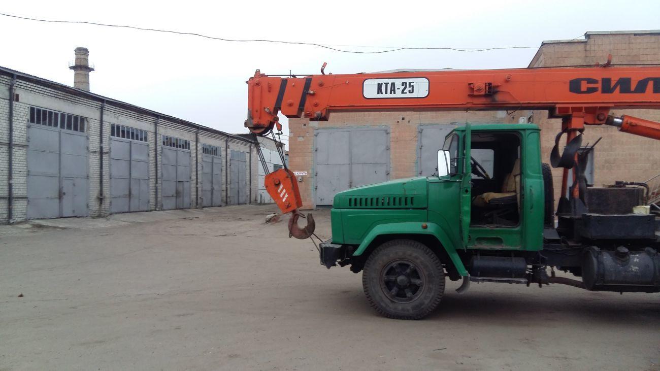 Услуги автокрана 25 тонн Харьков