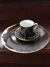 Roberto Cavalli кофейная чашка, тарелка , блюдце.