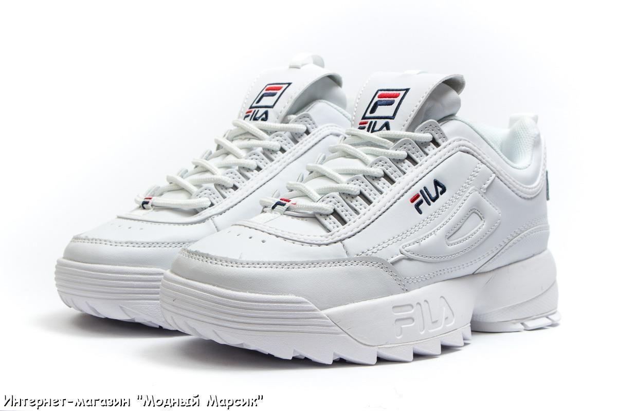 Кроссовки женские Fila Disruptor 2 White 4a754c471bf67