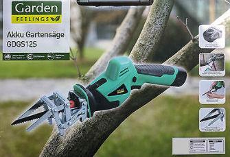 Садовая аккумуляторная пила Garden Feelings GDGS12S Германия