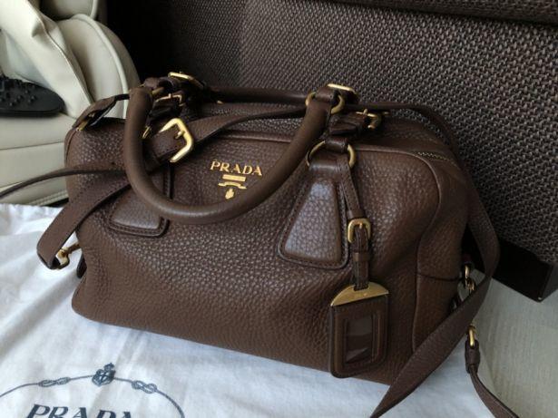 Сумка Prada оригинал как новая, шоколадная, коричневая  450 ... c0b4d03ff99