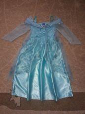 Платье Эльзы холодное сердце disney