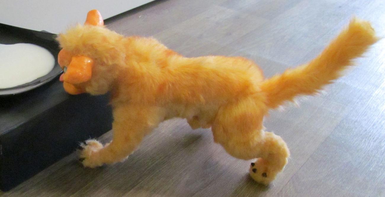 Мягкая игрушка ручной работы , Кошечка