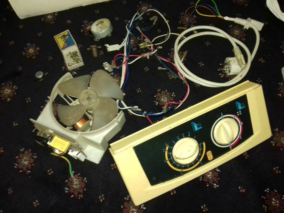 Микроволновая печь (на запчасти). Магнитрон, вентилятор