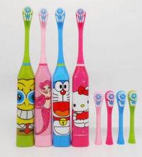 Детская электрическая зубная щетка+сменная насадка.не Oral-B