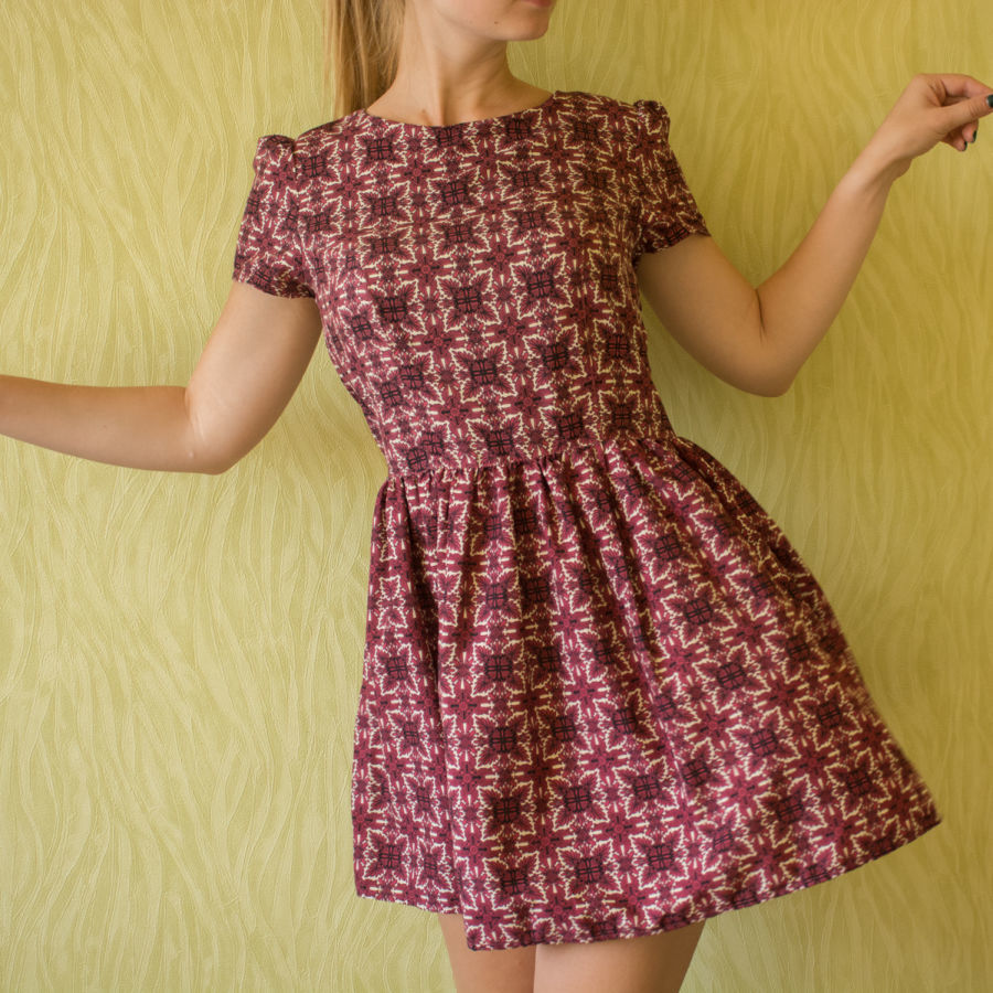 3aae048efe9 Супер платье с ярким принтом Atmosphere  130 грн. - Платья