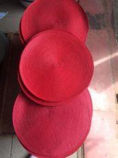 Салфетки под тарелки круглые соломка подставка под тарелку