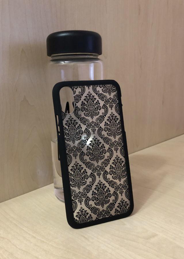 Новый матовый чехол - накладка с силиконовой основой для Iphone X/xs