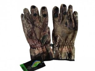 Перчатки софтшел softshell камуфляж для охоты рыбалки непромокаемые