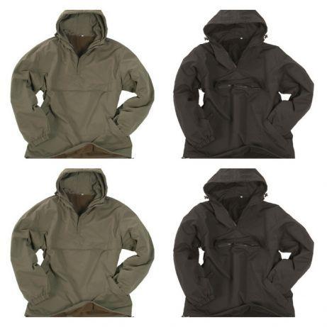 Куртка ветровка Анорак Combat,олива+черная,новая, Mil-Tec,Германия ... 66811e10440