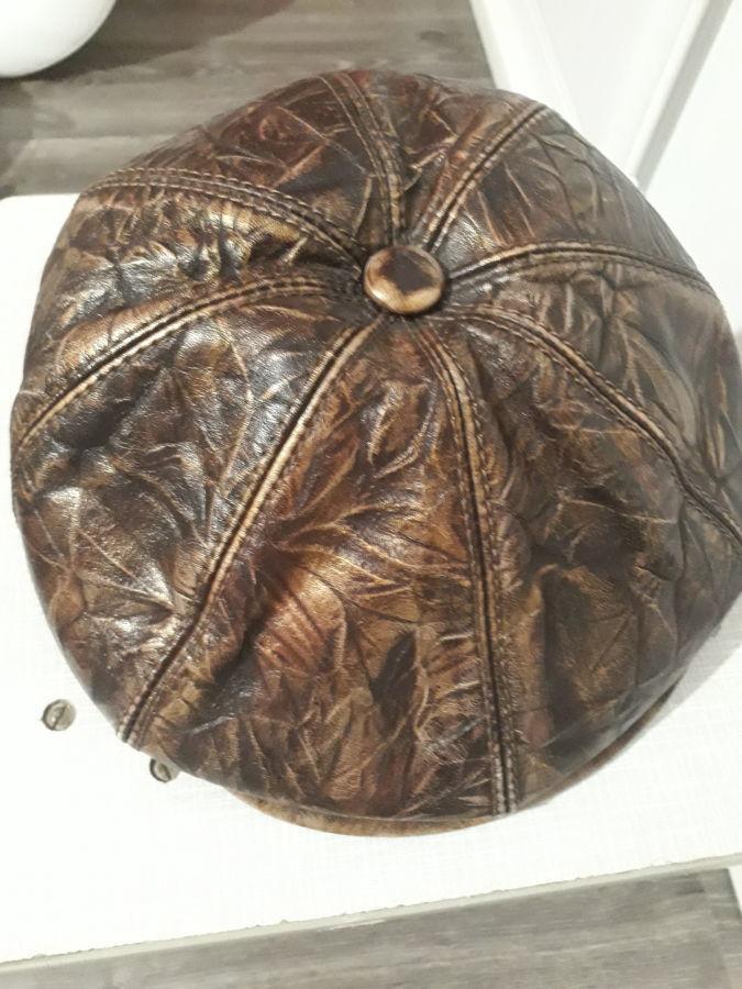 женская кепка осень-зима