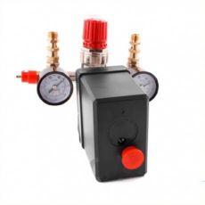 Прессостат, реле, автоматика для компрессора 220В 16А, 10Атм.