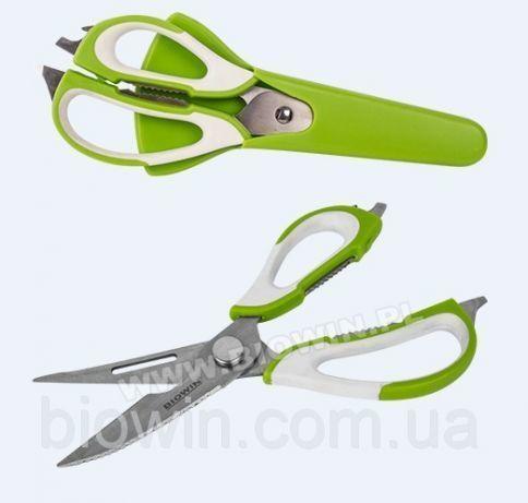 Кухонные ножници 10 в 1 с магнитом Biowin ( Польша )