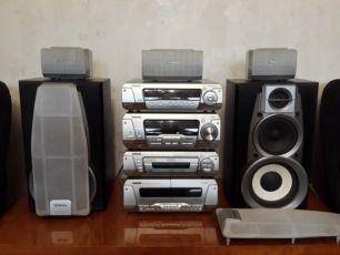 Продам Техникс Technics SС-EH790 Мощный музыкальный центр Class H+ 5.1