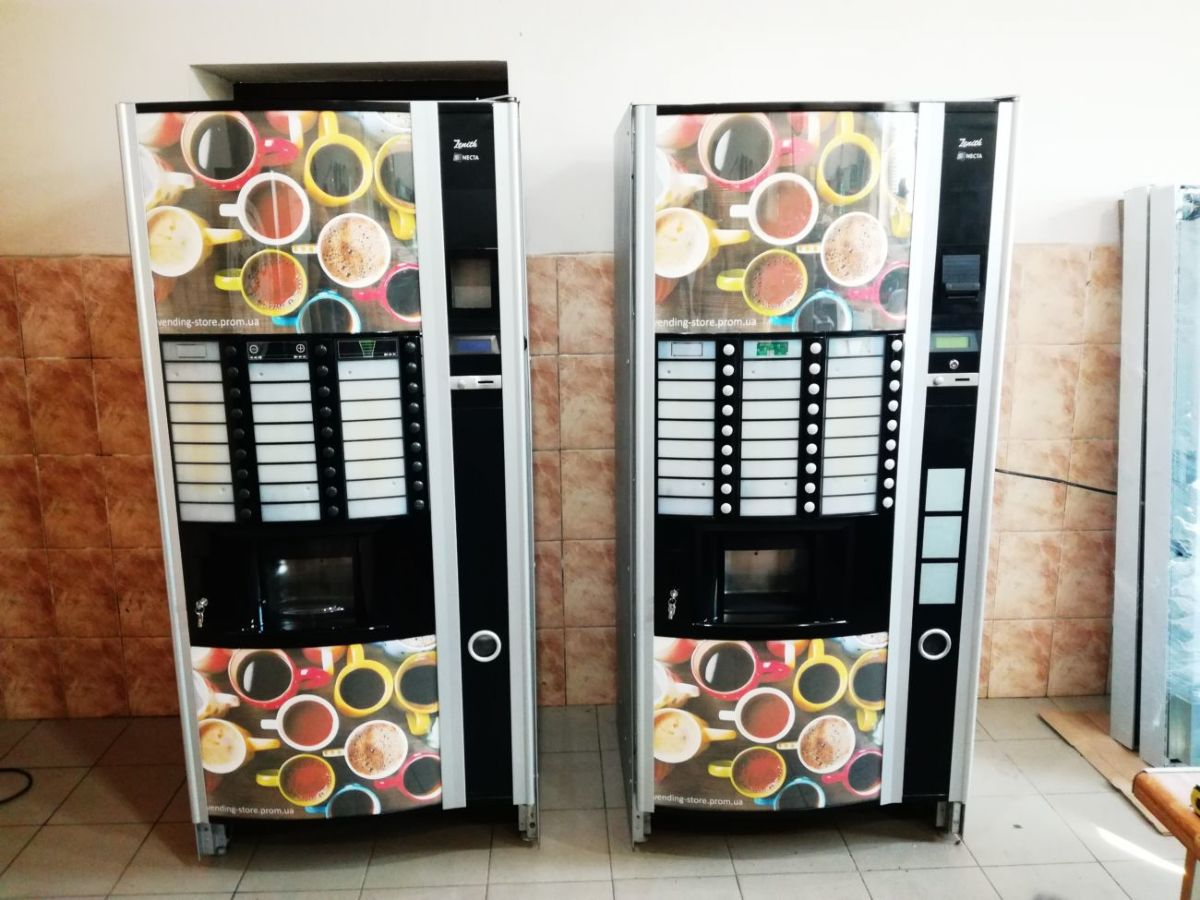 Кофейный автомат Necta Zenith с листовым чаем