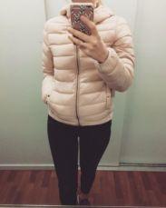 Куртка парка пуховик Zara пальто Зара женская зимняя