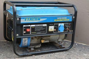 Электрогенератор Бензиновый Генератор Etalon SPG 3000 TIGER TG 1200