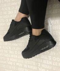 Кроссовки чёрные женские кеды найк кросовки красовки слипоны балетки