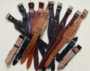 Кожаный ремешок для часов мужской, новые кожаные ремешки, кожа