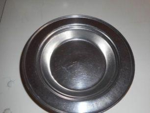 тарелка суповая, нержавейка СССР