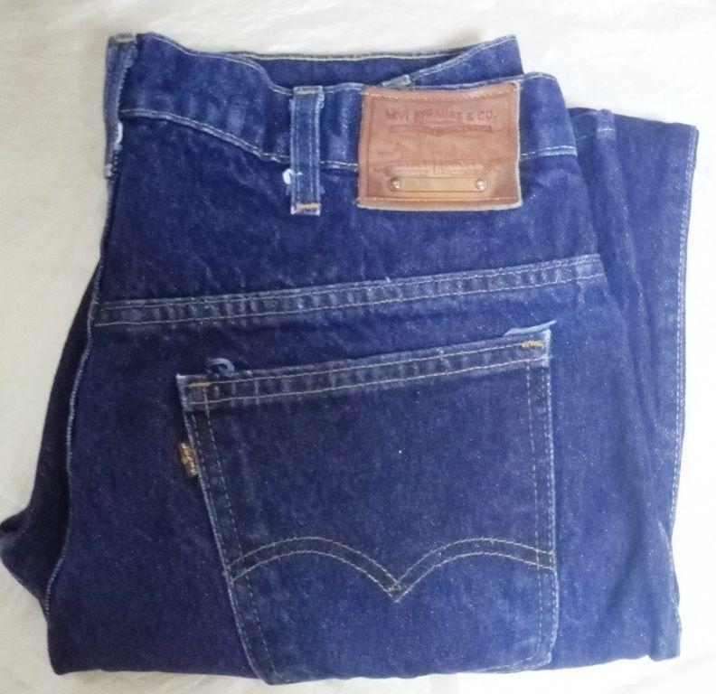 Редчайшие! Коллекционные номерные(Numbered) джинсы LEVI'S 517 34 size