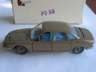 Машинка модель СССР 1:43 РО-80 коричневая