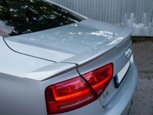 Спойлер на багажник сабля тюнинг Audi A8 D4 стиль ABT Ауди А8 Д4 АВТ