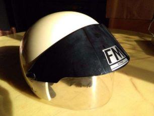 Мото шлем со стеклом FM by Fimez+Visor (Made in Italy)
